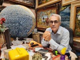 فرش دستباف ایرانی آینه تمام نمای فرهنگ ،هنر و تاریخ ایران است .