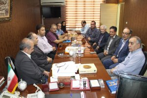 دیدار هیئت مدیره اتحادیه صنف عکاسان و فیلمبرداران با هیئت رئیسه اتاق اصناف