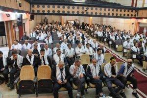 مراسم گرامیداشت هفته دفاع مقدس برگزار  شد