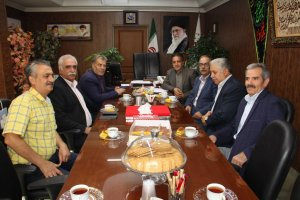 دیدار هیئت مدیره اتحادیه عینک فروشان با هیئت رئیسه اتاق اصناف