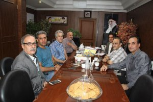دیدار هیئت مدیره اتحادیه صنف خشکشویی با هیئت رئیسه اتاق اصناف