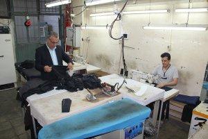 گپ و گفت خودمانی با رئیس اتحادیه خیاطان  و تولید کنندگان پوشاک کرج
