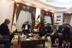 دیدار هیات رئیسه اتاق اصناف مرکز استان البرز با دکترشهبازی استاندار البرز
