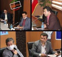 جلسه ساماندهی صنوف فاقد پروانه کسب در سالن جلسات سازمان صنعت، معدن و تجارت استان البرز برگزار شد.