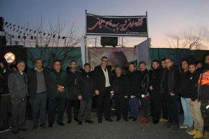 حضور هیات رئیسه اتاق اصناف مرکز استان البرز و فعالان صنفی در راهپیمایی قاسم سلیمانی ها