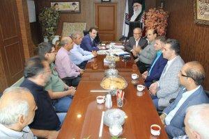 دیدار هیئت مدیره اتحادیه تعمیرکاران اتومبیل با هیئت رئیسه اتاق اصناف