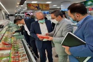 گشت مشترک بازرسی و نظارت بر روند توزیع کالا در فروشگاه های بزرگ و مراکز خرید کرج